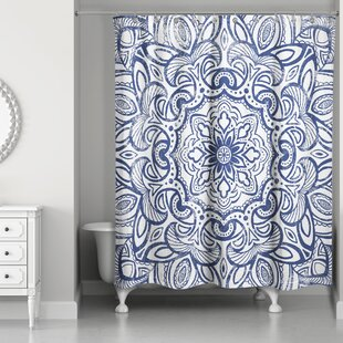 Huckstep Medallion Shower Curtain