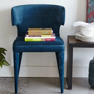 Kartik Upholstered Dining Chair Everly Quinn