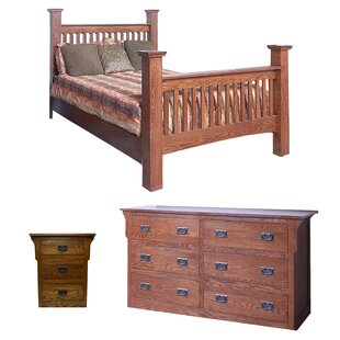 Aske Queen Panel Configurable Bedroom Set