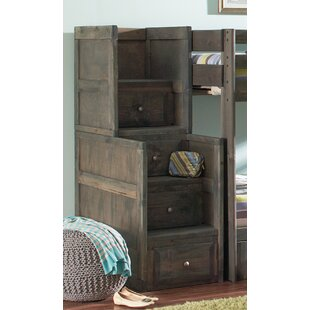 Affordable Price Malina Youth 4 Drawer Stairway Chest by Viv + Rae