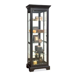 Newport Lighted Curio Cabinet by Philip Reinisch Co.