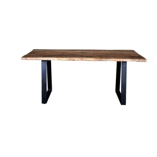 Millwood Pines Naia Live Edge Dining Table