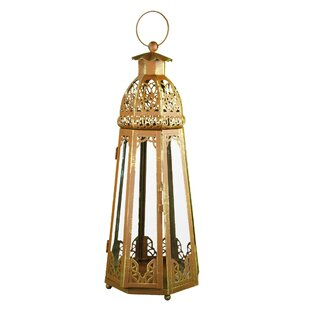 Best Choices Metal Lantern By World Menagerie