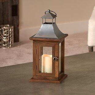 Smart Living Portland Wood Lantern