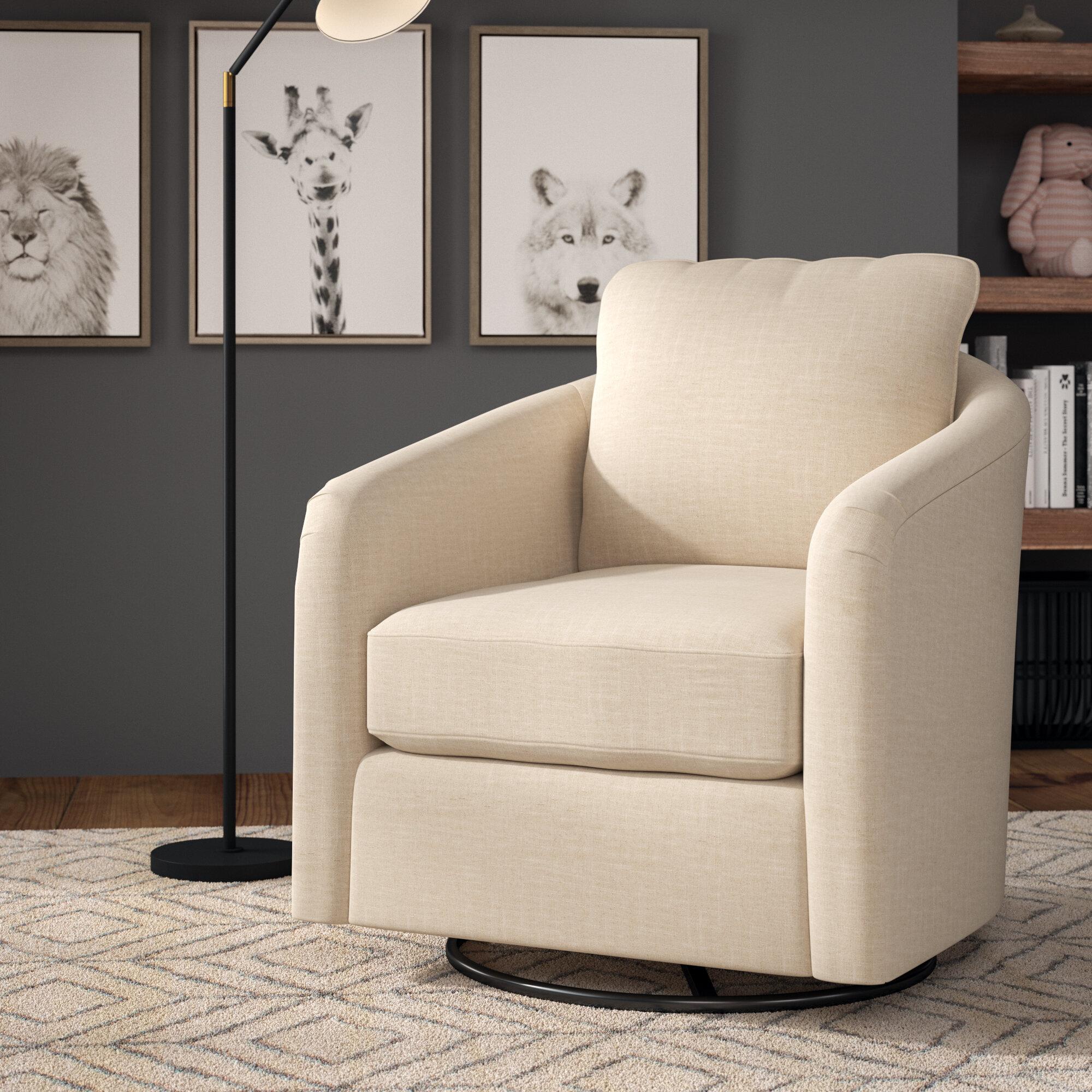 Marvelous Bartow Modern Swivel Glider Beatyapartments Chair Design Images Beatyapartmentscom