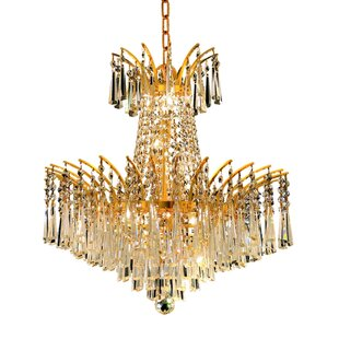 Everly Quinn Phyllida 8-Light Chandelier