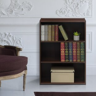 Hinshaw 3-Shelf Standard Bookcase Latitude Run Discount