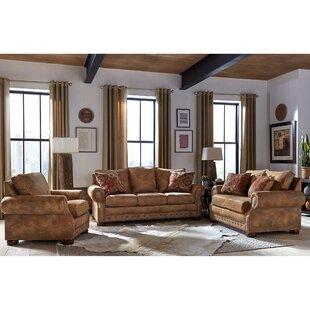 Gabrielle 3 Piece Sleeper Living Room Set by Loon Peak