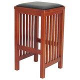 Lokki Solid Wood Bar Stool by Red Barrel Studio®
