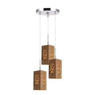 Newsom 3-Light Cluster Pendant by World Menagerie
