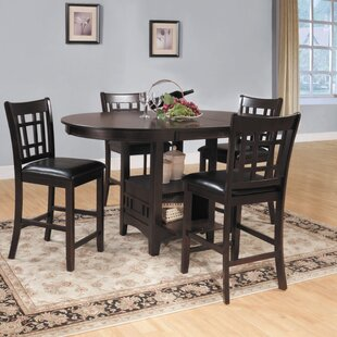 Araiza Counter Height Extendable Dining Table World Menagerie