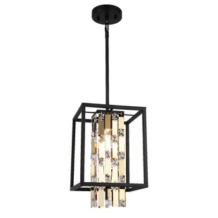 Hartzell 1-Light Square/Rectangle Pendant by Mercer41
