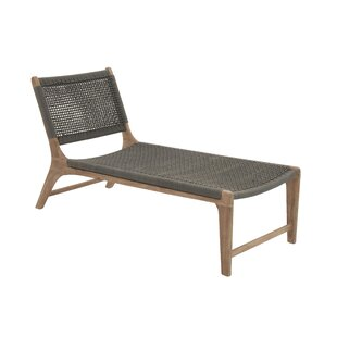 Cole & Grey Wood Rope Chair Lounge