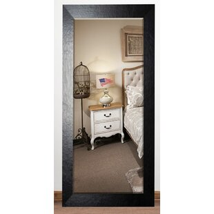 Darby Home Co Leather Beveled Wall Mirror