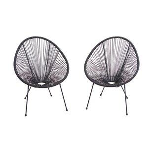 Langley Street Zion Papasan Chair (Set of 2)