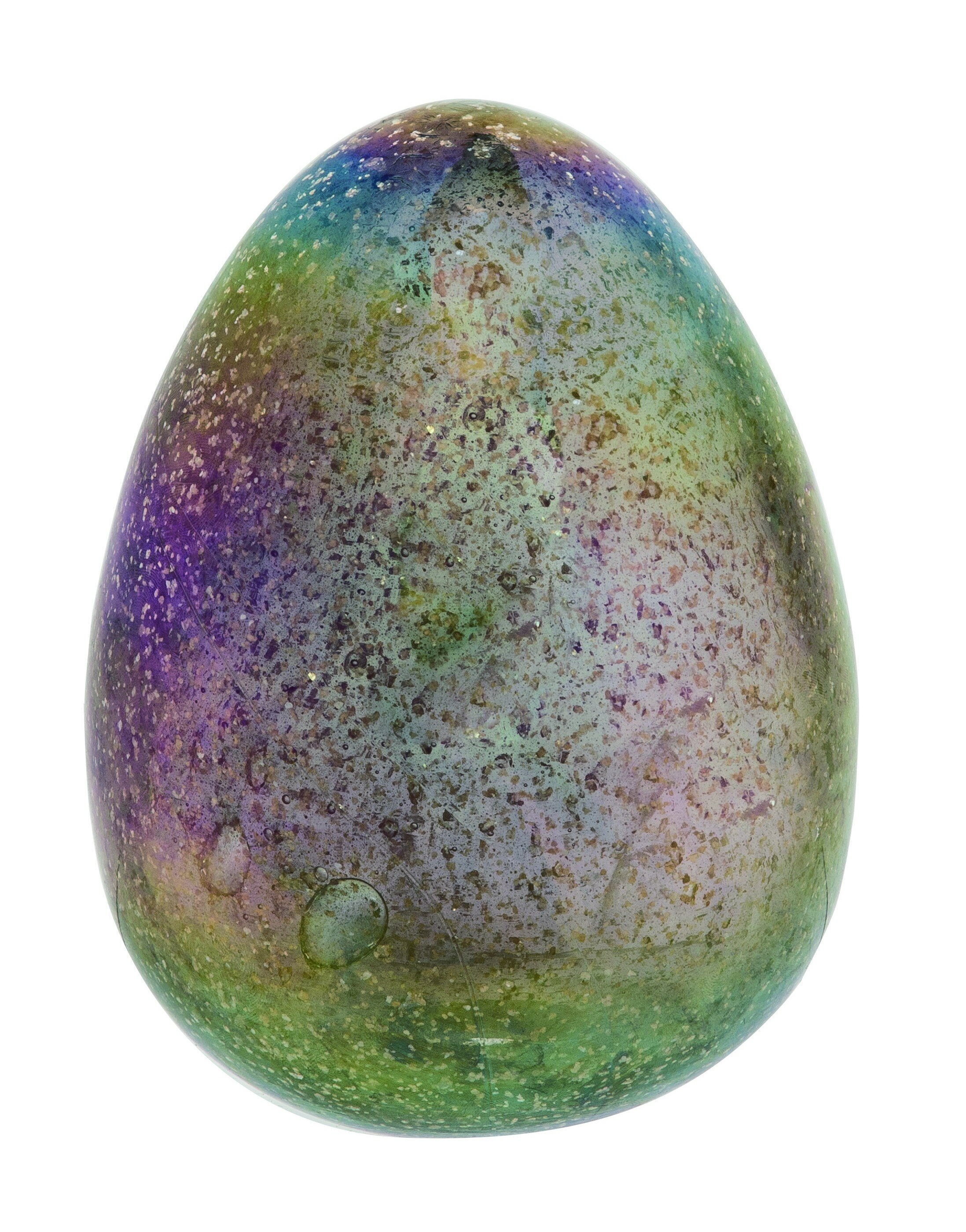 The Holiday Aisle Janzen Glass Glittering Pastel Egg Decor Reviews Wayfair