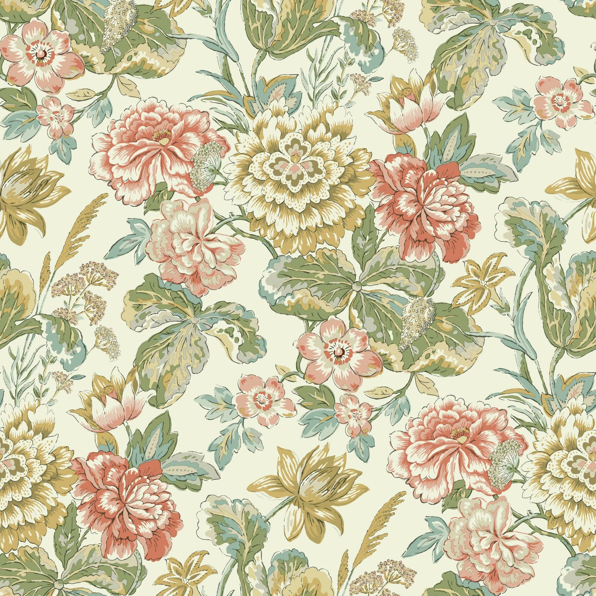 York Wallcoverings Waverly Classics Ii Sonnet Sublime Removable 33