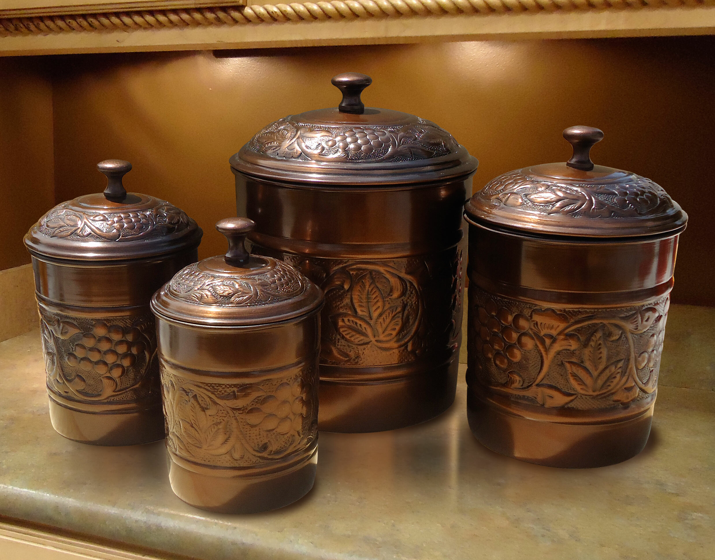 Strange Farmhouse Rustic Kitchen Canisters Jars Birch Lane Home Interior And Landscaping Ologienasavecom