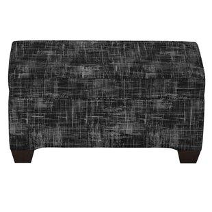 Stutler Linen Upholstered Storage Bench By Brayden Studio