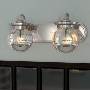 Coupon Clickett 2-Light Vanity Light By Trent Austin Design