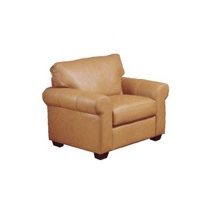 Omnia Leather West Point Armchair