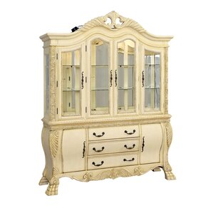 Dolores Lighted China Cabinet by Hokku De..