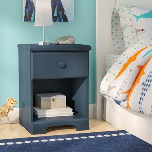 Barra 1 Drawer Nightstand By Harriet Bee