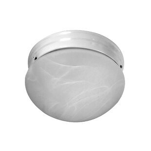NICOR Lighting 1-Light Flush Mount