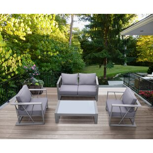 Check Out Beagley 4 Piece Sofa Set with Cushions Great Price