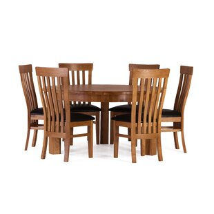 Rebekah Dining Set With 6 Chairs By August Grove