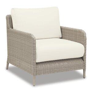 Manhattan Club Chair With Cushions by Sunset West Modern