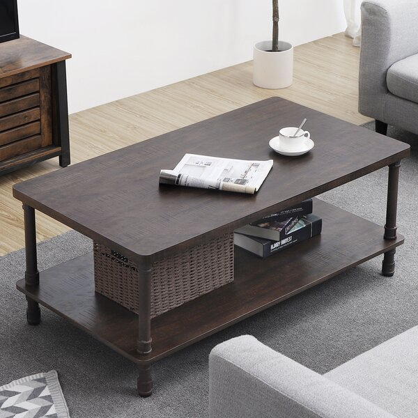 Remarkable Urban Industrial Coffee Table Wayfair Ocoug Best Dining Table And Chair Ideas Images Ocougorg