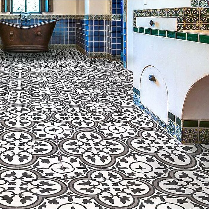 8 X 8 Cement Field Tile