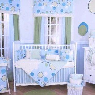 Minky Bubbles 4 Piece Crib Bedding Set ByBrandee Danielle