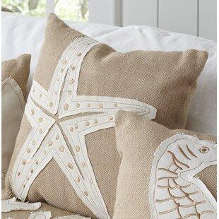 Wheeling Starfish Pillow Cover