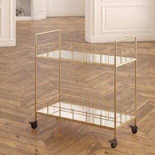 Everly Quinn Rebeccah Bar Cart