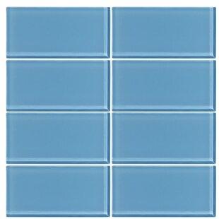 3 X 6 Gl Subway Tile In Sky Blue