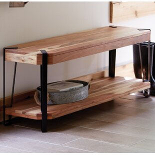 Tindal Live Edge Wood Bench by Union Rustic
