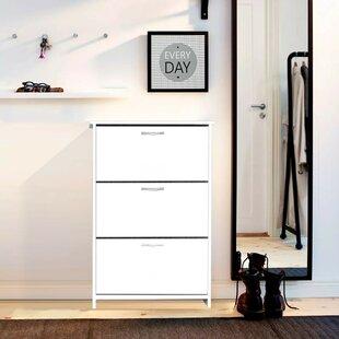 Triplex Shoe Storage Cabinet By Symple Stuff