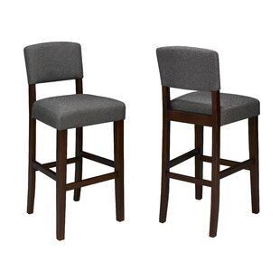 Ensley 24 Bar Stool (Set of 2) Red Barrel Studio