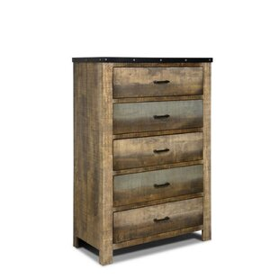 Zager 5 Drawer Chest by Millwood Pines