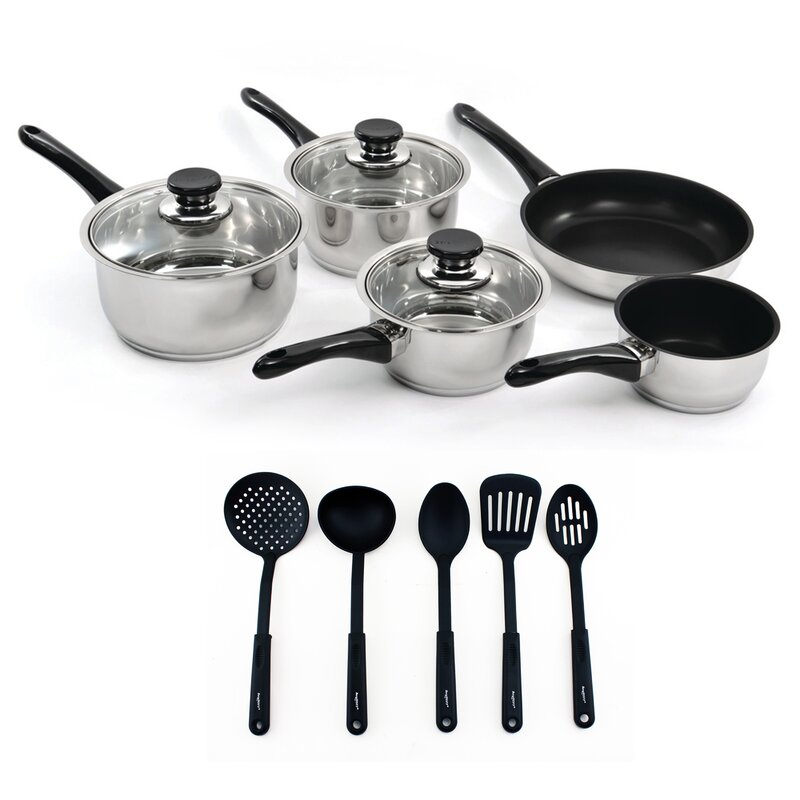 BergHOFF International BergHOFF International Vision 13 Piece Stainless Steel Non Stick Cookware Set