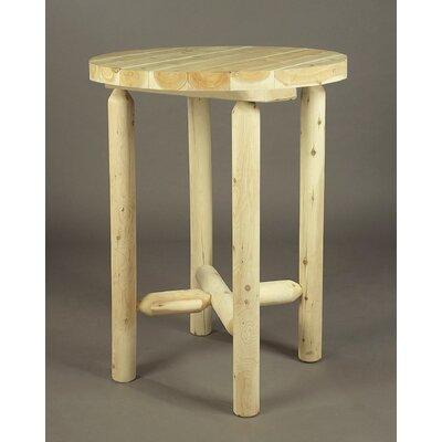 Rustic Natural Cedar Furniture Dining Table Color: Clear Coat