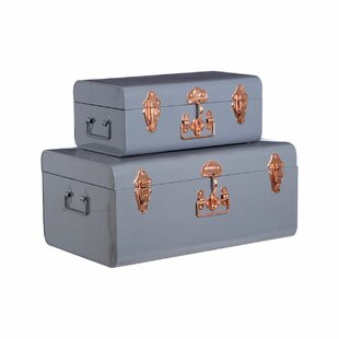 2 Piece Trunk Set By Symple Stuff