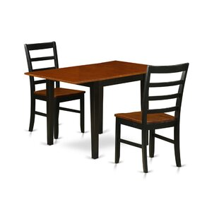 Greaton Drop Leaf Solid Wood Dining Set