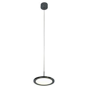 Orren Ellis Ogle 1-Light LED Geometric Pendant