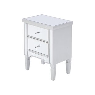 Estella 2 Drawer Bedside Table By Canora Grey
