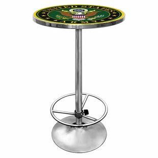 Army Logo Pub Table II by Trademark Global