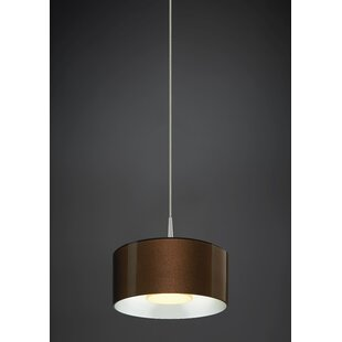 Latitude Run Jaggers 1-Light LED Pendant