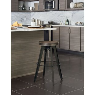 Migliore Adjustable Height Bar Stool Williston Forge